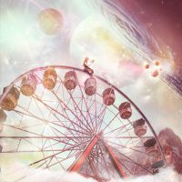 Galactic Ferris Wheel by SoulcolorsArt