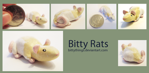Bitty Rat 1 - SOLD by Bittythings