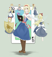 The Grimoire for Alice by TheIceHawk