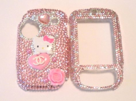 Custom HTC Verizon Bling Case by AmbiguousAngel