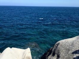 Rocks and Sea II. by The-Great-Luigi