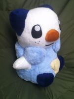 Life size Oshawott 2 by Glacideas