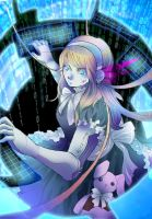 Alice in Cyberland by mangarainbow