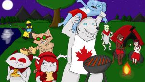 League of Legends Canada Day! by Scarefish