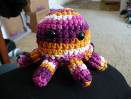 Tropi the amigurumi octopus by craftybird