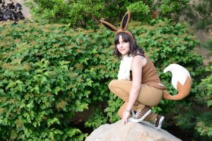 Colossalcon 2013 Pokemon Eevee by WesternVagabond