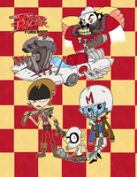 Speed Racer Fury Road by Galago
