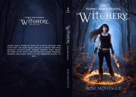 BooK Cover - Norma Jean's School of Witchery by MirellaSantana