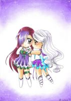 G: Pure Sailor X and Sailor Pollux by MTToto