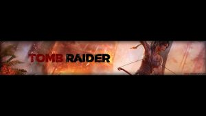 Tomb Raider (2013) YouTube Banner by XM94