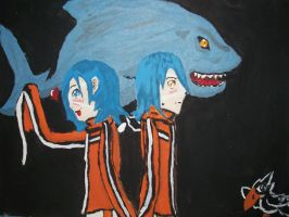 Akito and Agito by TwitchyTail