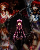 Anime wallpapers training 1 by Naeylin