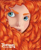 Princess Merida by toown