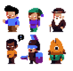 Minimalistic Sprites Display by BlondeAnt