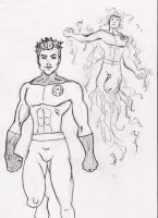 Human Torch Johnny by Comicfanatic83