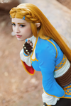 Zelda from Breath of the Wild by LayzeMichelle