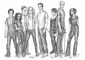 eight demigods by kacey-lynn