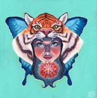 Tiger Lily by dviart
