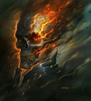 Ghost Rider by dirtyandbroken