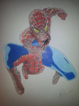 Spider Man 2 by Emmris-Dessin