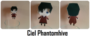 Ciel Phantomhive Papercraft by XmadlyinloveX