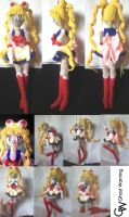 Sailor Moon Amigurumi Doll. by LGhost