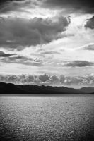 Dramatic Lake by Simmemann