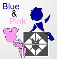Blue And Pink by TerdBurgler