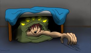 Under The Bed by DR4WNOUT