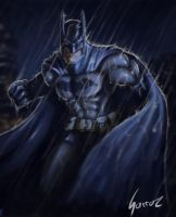 The Dark Knight by sarroz