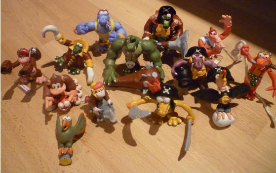 All Donkey Kong Figurines by Jelle-C