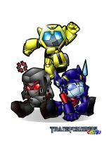 CHIBI-TRANSFORMERS by philadelphia13