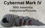Cybermat Mark IV Crochet Pattern (With Pictures) by CuriousPony