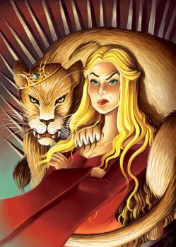 Prowess of a Lioness by AshleysCanvas