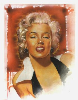 Marilyn Monroe by meswonder