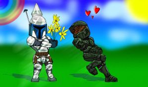 The Fall of Master Chief by GeneralSoundwave