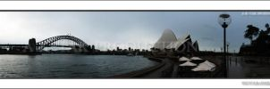 Sydney Panorama by 1on3wo1f