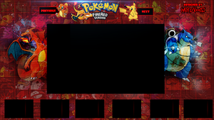 Free to use Pokemon FireRed Sidebar (Lets Play BG) by Hardyeric1
