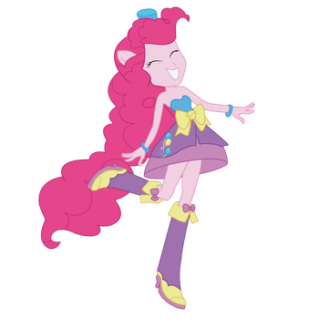 Pinkie Pie Equestria Girls Vector by AgentLiri