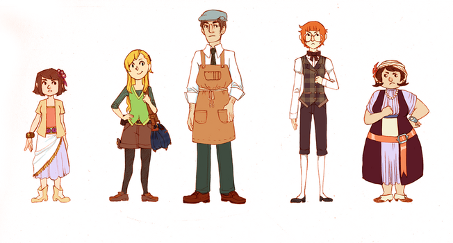 some new characters by life-take