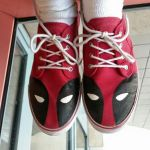 My Cool Deadpool Shoes by V1EWT1FUL