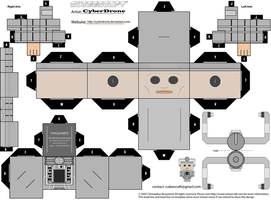 Cubee - Cyberman 'Mk1' by CyberDrone