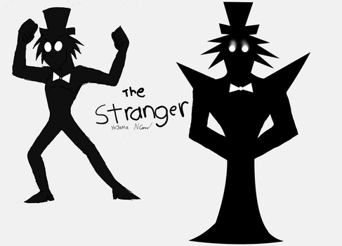 The Stranger (rough character concept) by Yojama