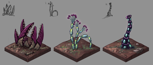 Alien Plant Concepts by merbel