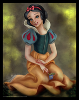 Princess coloring : Snow-White by 0Snow-White0