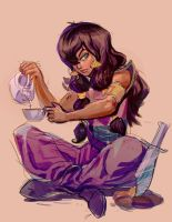 Quickie - Tula from pirates of dark water by mishinsilo