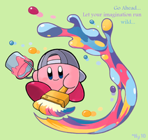Paint Kirby by water-kirby