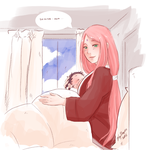 Sasusaku Family 06 by Fey-Rayen