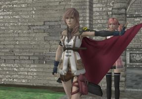 I will protect you Serah by bogidream
