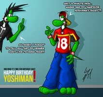 [BDay Gift] Awesome YoshiMan's paws by McTaylis